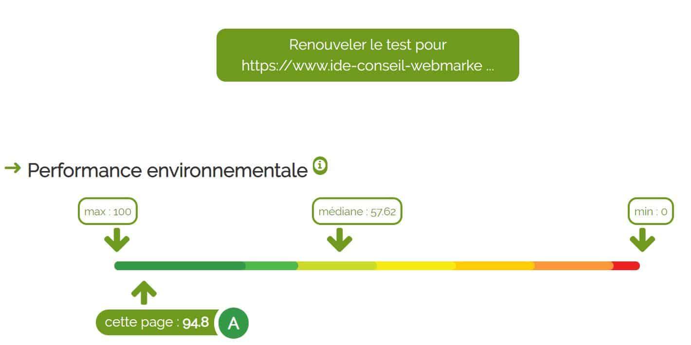Site Isabelle Delseny-Ernest en éco-conception web